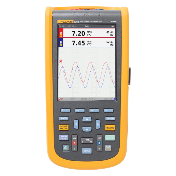 SMI Instrumenst Product FLUKE - 124B/INT/S (Include Software) Industrial ScopeMeter (Include software)