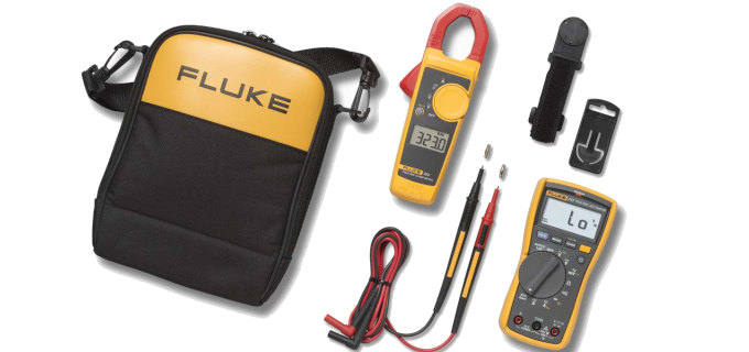 SMI Instrumenst Product FLUKE - 117/323 Multimeter/Clamp Meter Combo Kit