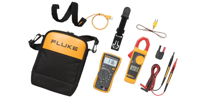 SMI Instrumenst Product FLUKE - 116/323 HVAC Multimeter/Clamp Meter Combo Kit