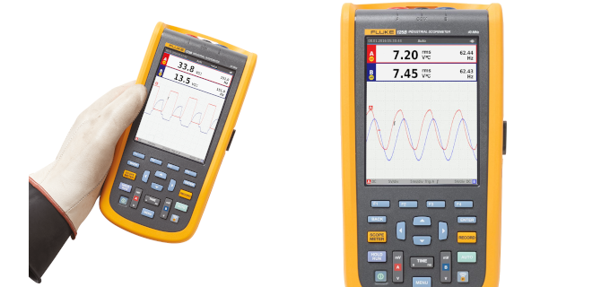 SMI Instrumenst Product FLUKE - 125B/INT/S (Include Software) Industrial Scopemeter (Include software)