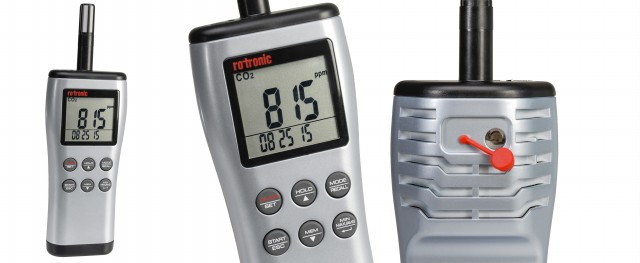 SMI Instrumenst Product ROTRONIC - CP11 CO2, Humidity- and Temperature Handheld Meter