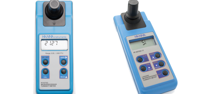 SMI Instrumenst Product HANNA - HI93703C TURBIDITY METER ISO 7027 WITH CALIBRATION STANDARD & CASING