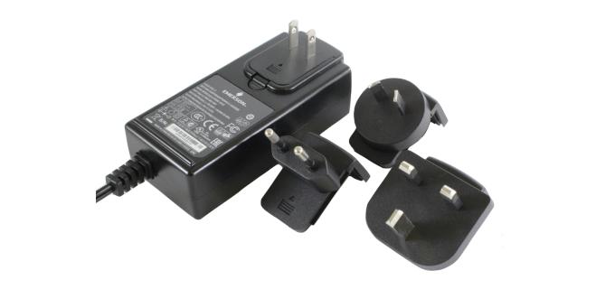 SMI Instrumenst Product EMERSON - TREX-0003-0011 AC ADAPTER (Includes US,EU,UK,AU Outlet Plugs)